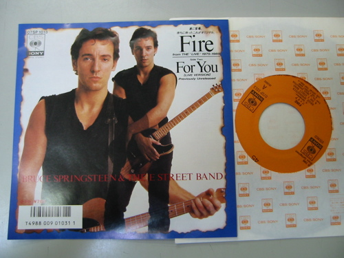 Bruce Springsteen & The E Street Band - Fire CD